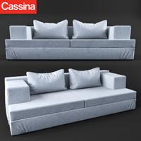 3d model cassina miloe
