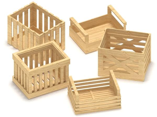 3d crates