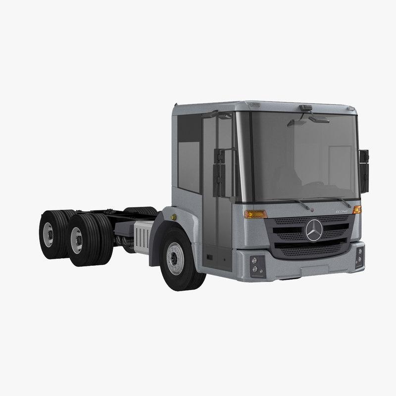 3d model mercedes econic 2015