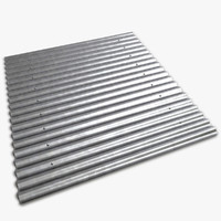 3d model metal roof sheet
