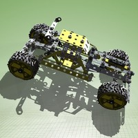 Meccano buggy and complete kit
