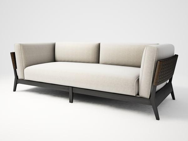 3d model galeri box furniture -