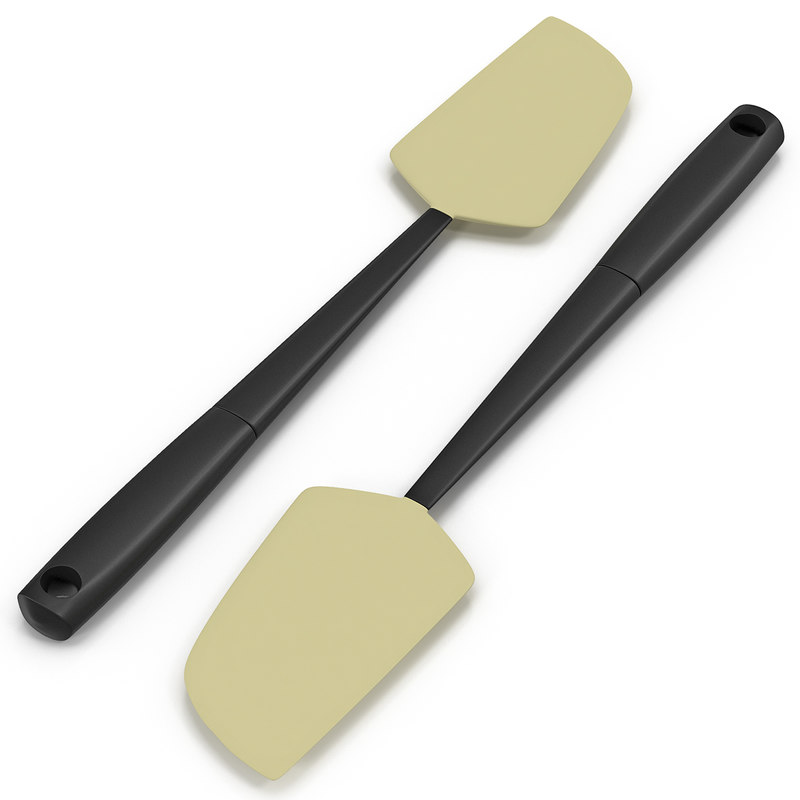 silicone spatula c4d