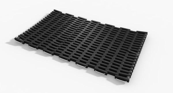 rubber door mat obj