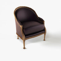 Armchair Henriot and Pozzoli Bergere  PR6874