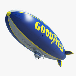 3d max good year blimp