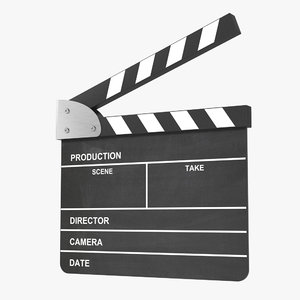 max analog clapperboard