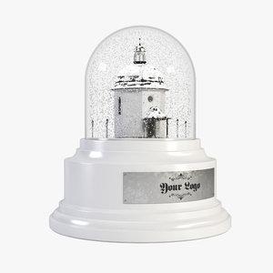 max snowglobe chapel realistic