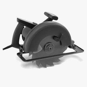 3d power tool - saw
