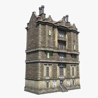 7-Storey Brick Brown House