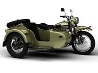 ural patrol t 2014 3d model
