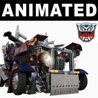 3dsmax transformer animation realistic