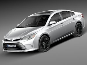 3d model 2016 toyota avalon