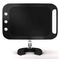 3d model lcd monitor