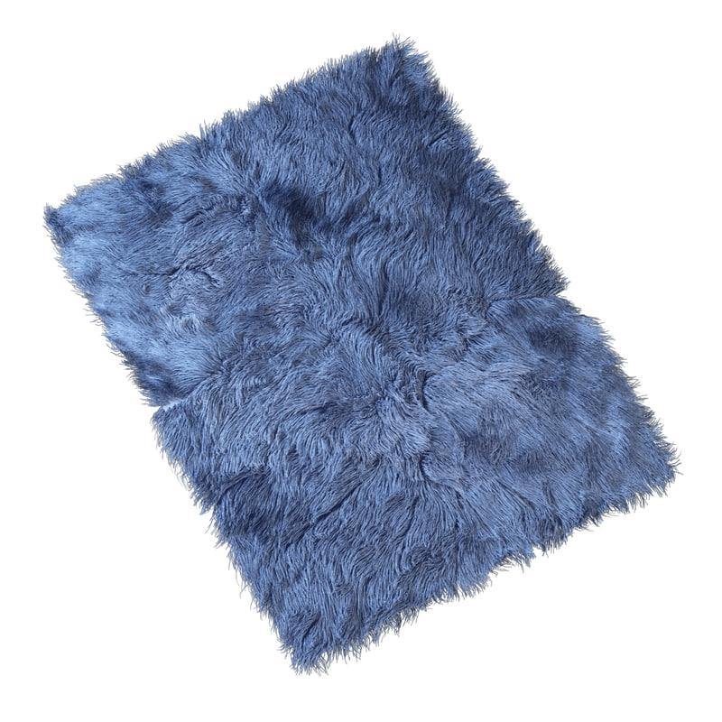 3d model carpet long pile