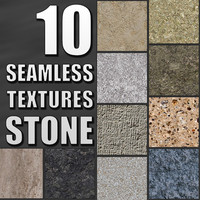 10 Seamless Tileable Stone Textures