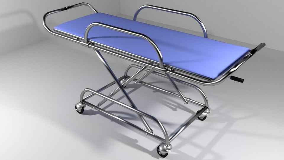 lightwave hospital furniture stretcher