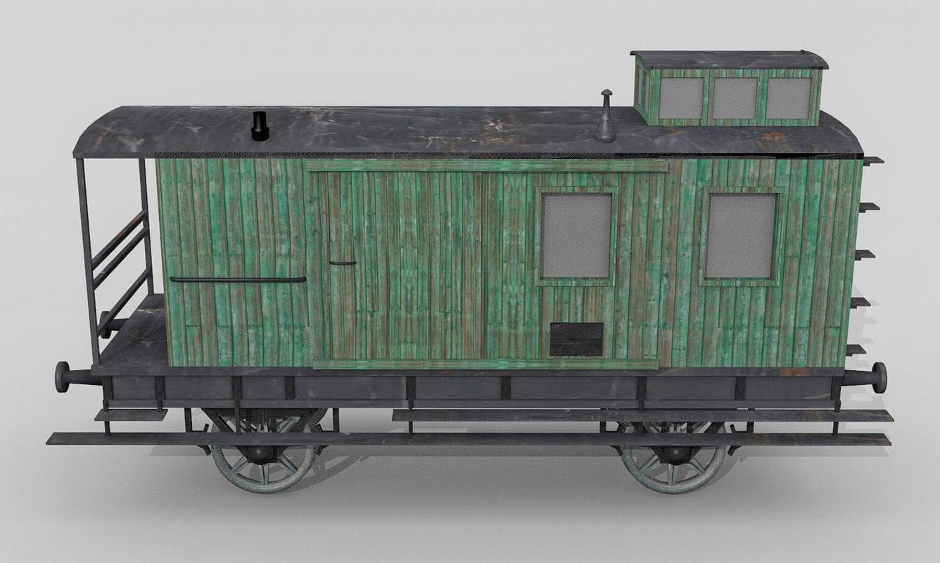 bavarian baggage car 3ds