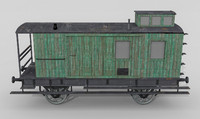 bavarian baggage car 3ds