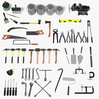 large tools hand 3d 3ds