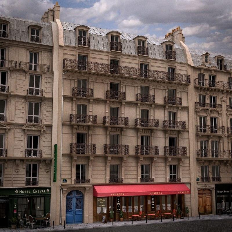 france building tenement lwo