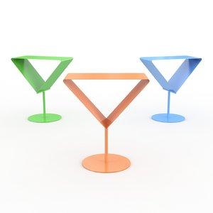 max martini steng licht table