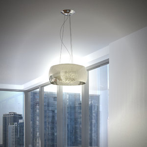 hanging lamp 3d 3ds