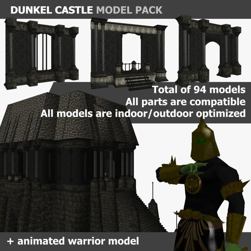 dunkel castle pack max