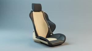 sport seat 3d 3ds