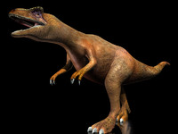 3d max allosaurus