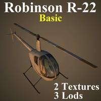 robinson basic 3d model