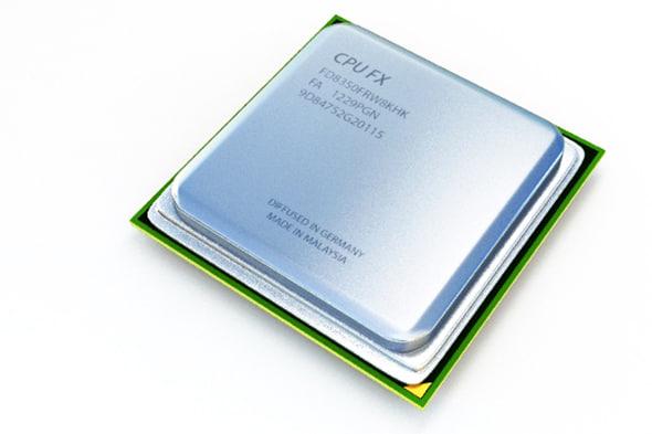 cpus chips 3d max
