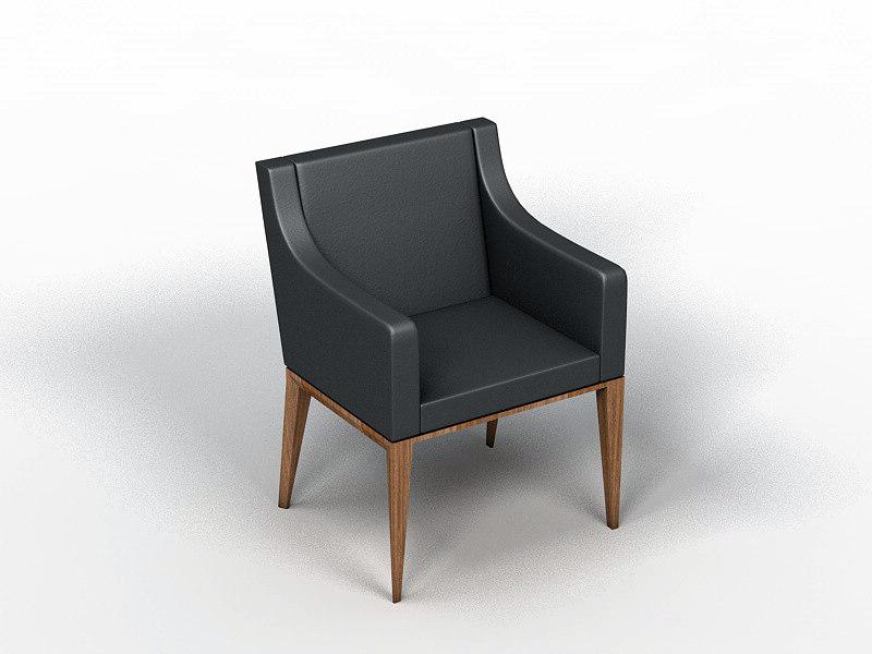 3d bess chair armchair model