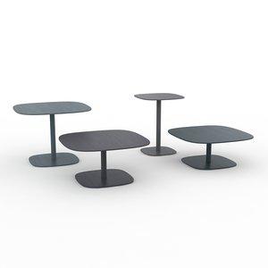 chanel galottin radice tables 3d model