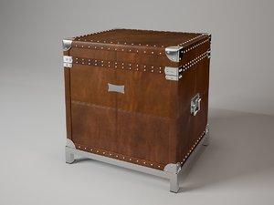 flightcase 105173 eichholtz 3d dxf