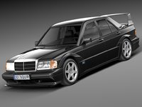 Mercedes-Benz 190E W201 Evolution II 1990
