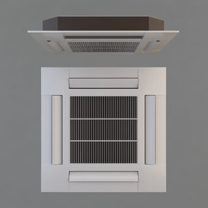 3d model air conditioner ceiling