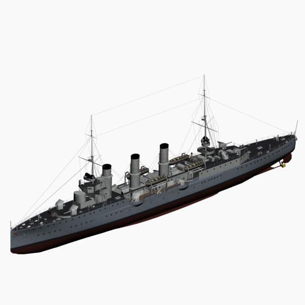 max pillau class cruiser imperial