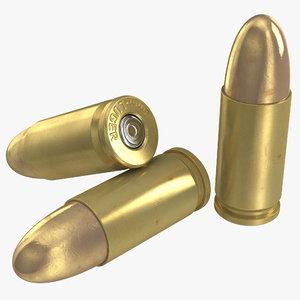 3d 9mm cartridge model