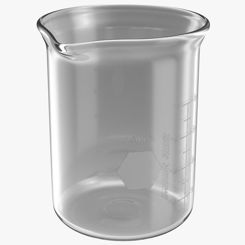 max 250 ml beaker 2