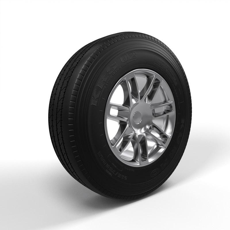 wheel sport 3d max