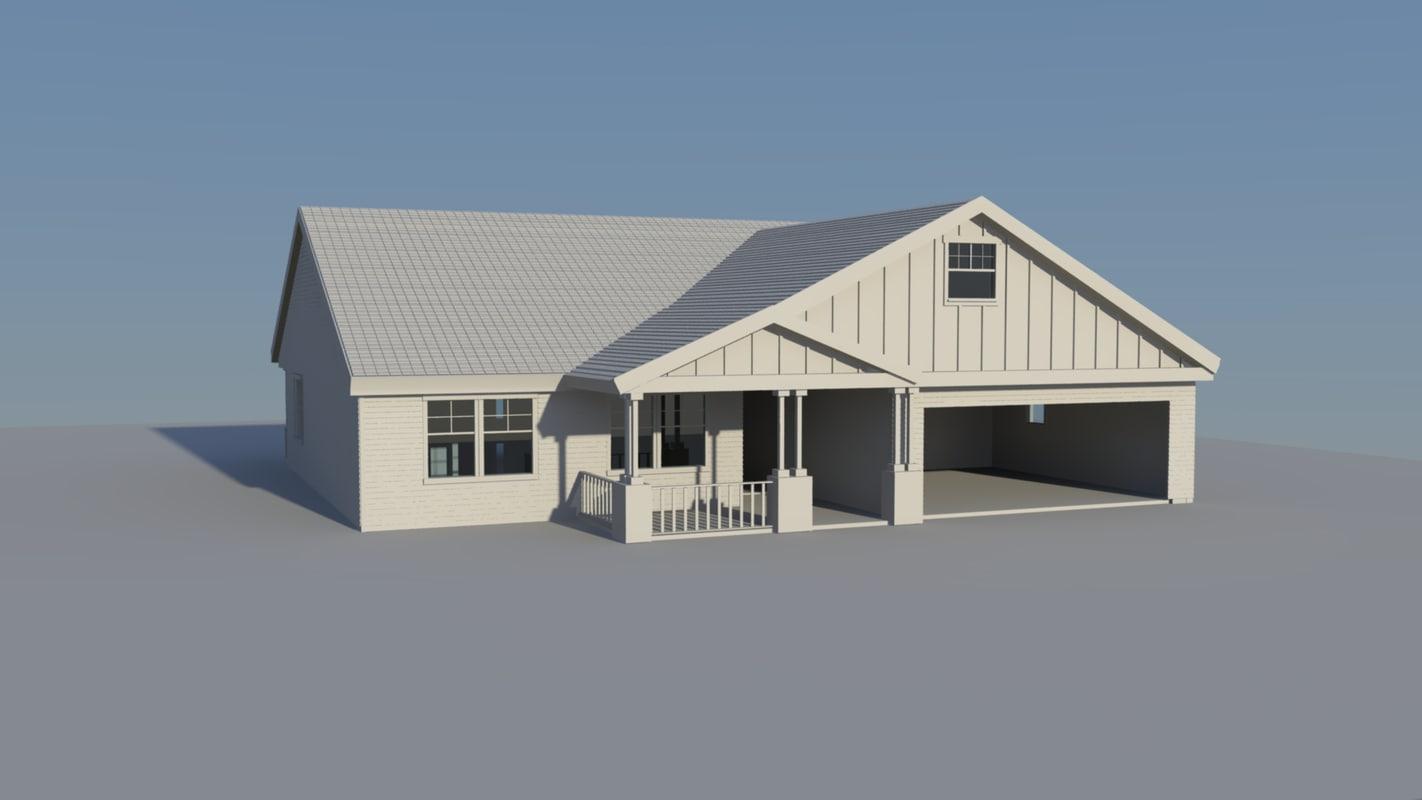 house blueprints 3d ma