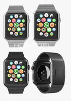 3d model apple watch stainless steel
