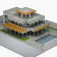 villa 3d max