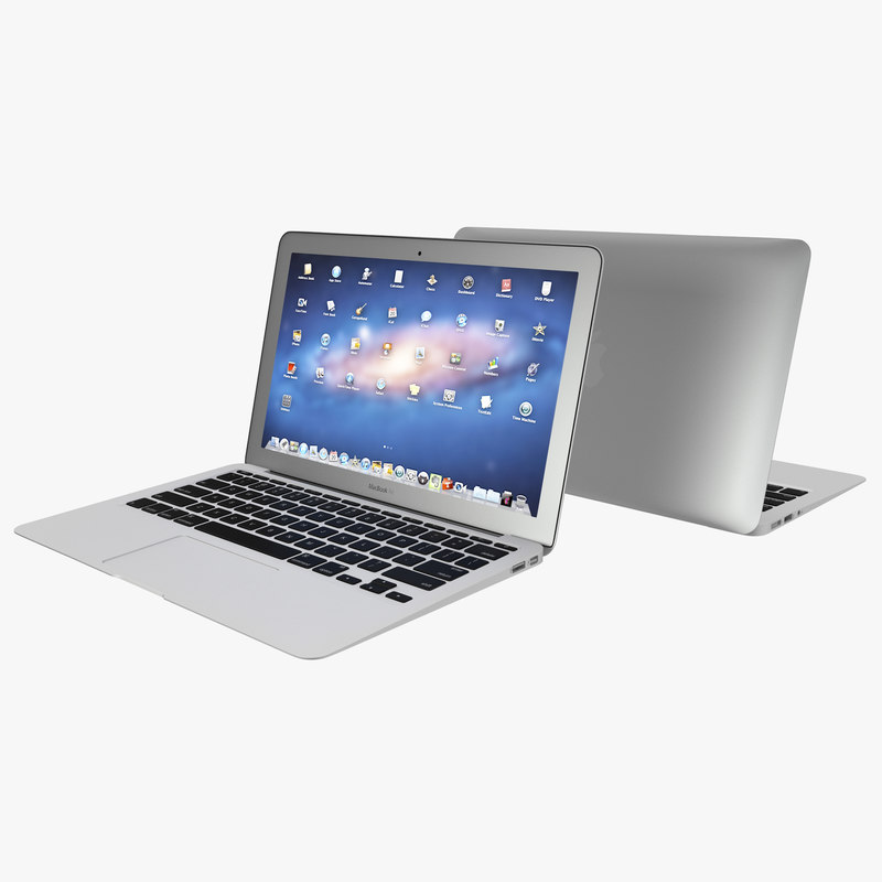 macbook air 11 inch 3d c4d