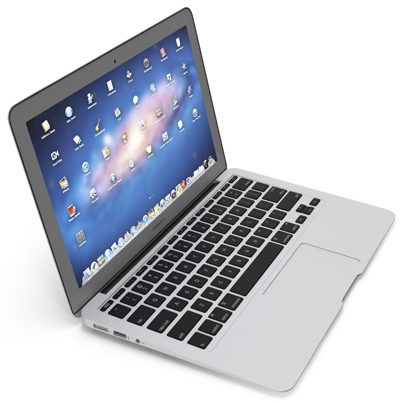 macbook air 11 inch 3d 3ds