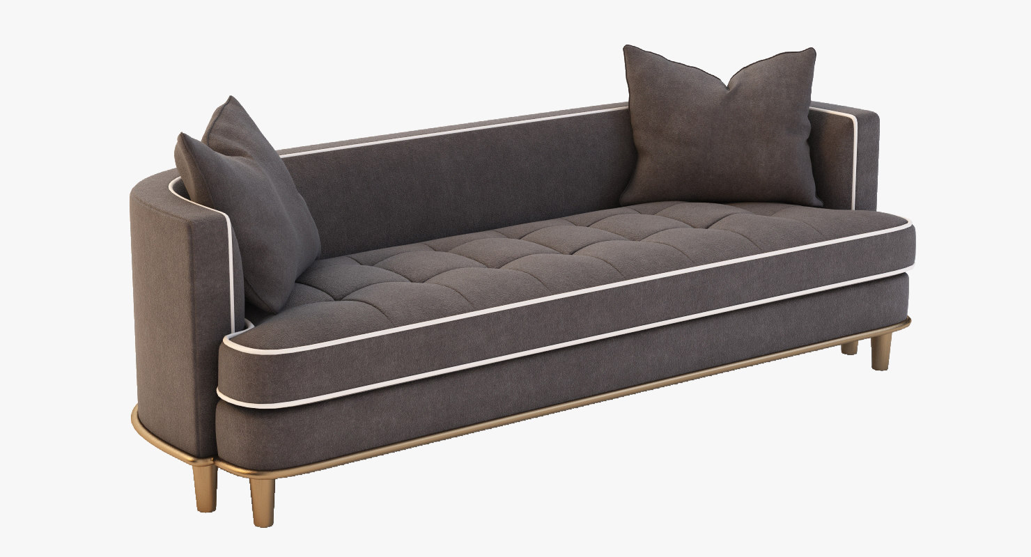 paramount sofa sf7865 3d 3ds