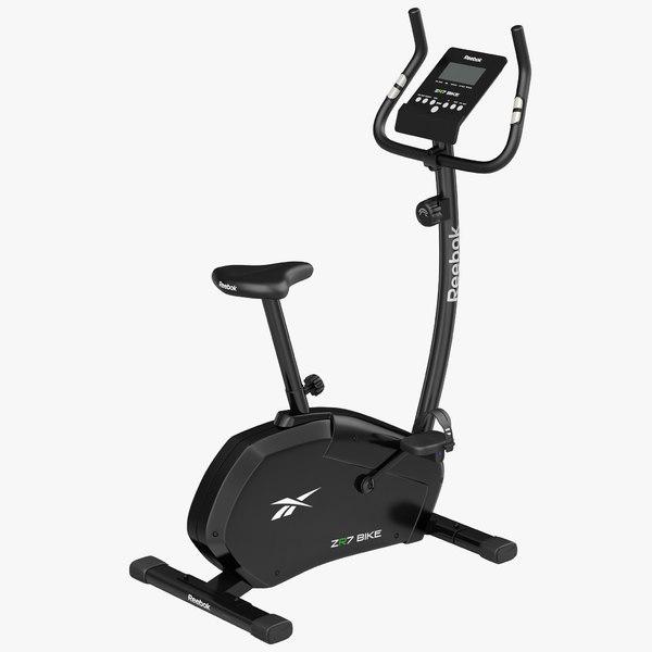 3dsmax exercise bike reebok zr7