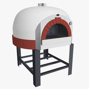 pizza oven 3d max