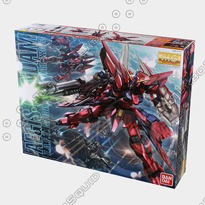 3d bandai gundam model